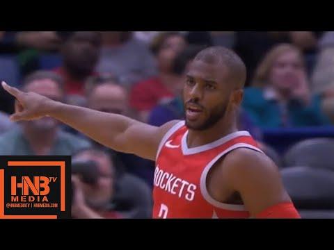 Houston Rockets vs New Orleans Pelicans 1st Qtr Highlights / March 17 / 2017-18 NBA Season