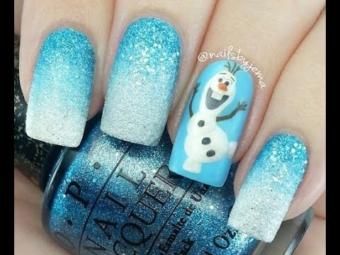 U as para navidad u as decoradas con esmalte youtube - Unas decoradas con esmalte ...