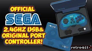 Official Sega Genesis Wireless  2.4ghz Controller For Mini & Original Hardware! Review