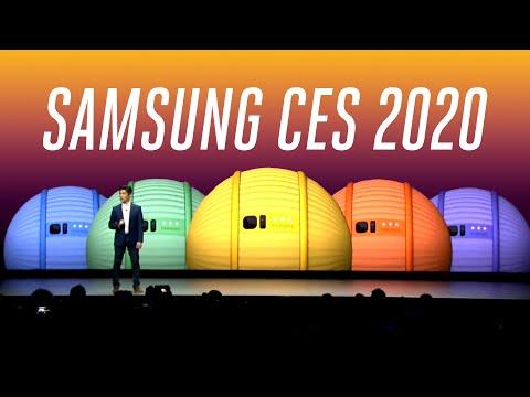 Samsung CES 2020 keynote in under 6 minutes