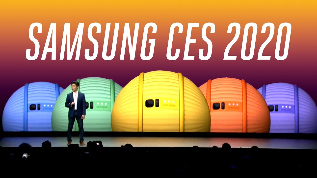 Samsung CES 2020 keynote in under 6 minutes