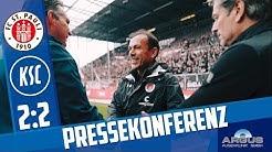 Pressekonferenz nach St. Pauli (12. Spieltag)