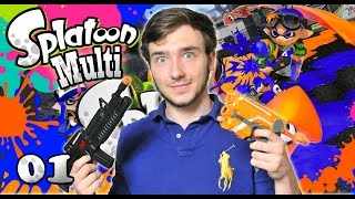 Let's Play Splatoon MULTI Fr Episode 1 ! COMBAT SPLATOON EN LIGNE ! LET'S PLAY FRANCAIS