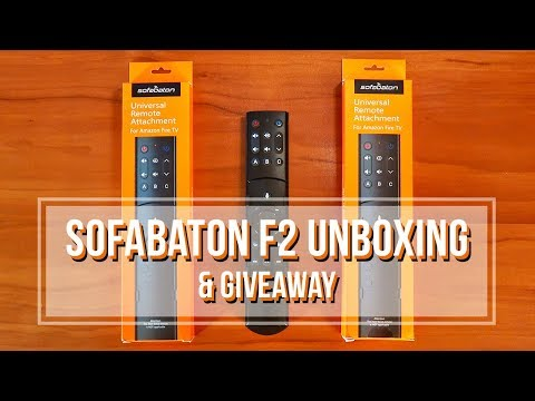 SofaBaton Amazon Fire TV Universal Remote Attachment Review & GIVEAWAY!!