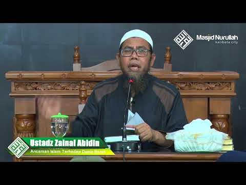 Ustadz Zainal Abidin Syamsuddin ~ Ancaman Islam Terhadap Dunia Barat ~