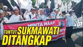 Massa Ormas Demo di Grahadi, Tuntut Sukmawati Ditangkap Video