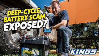 DEEP-CYCLE BATTERY BUYER'S GUIDE! AĠM deep cycle batteries compared + camping battery tech!