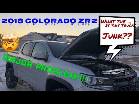 2018 COLORADO ZR2- Major Problem! (PT #1) - YouTube