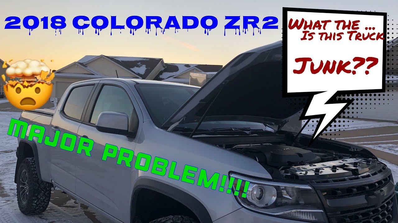 2018 COLORADO ZR2- Major Problem! (PT #1)