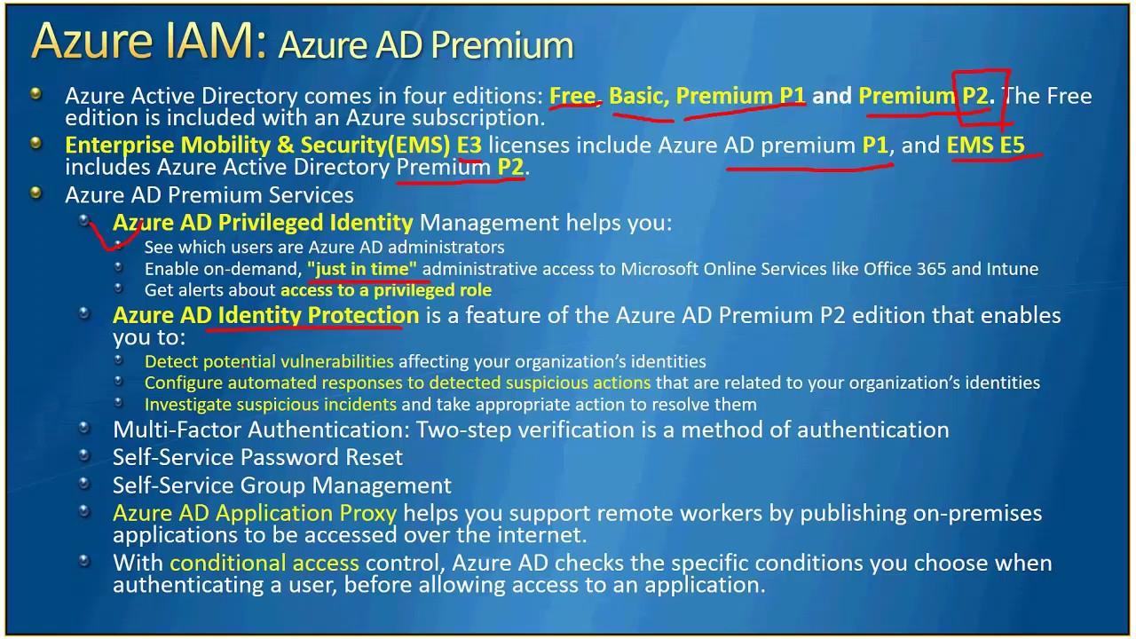 AzureTalk Azure AD Premium