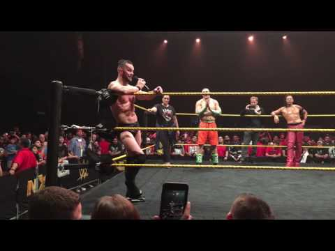 NXT Curtain Call - Finn Balor, Carmella, Nia Jax & Mojo Rawley say goodbye to NXT (Houston)