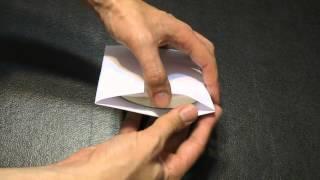 Vamox CD origami packaging