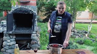 Рецепты на мангале: как приготовить баранину, аджаб сандал, компот, блины, шаурму, бургер