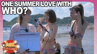 Foreign boy VS Japanese boy: Who would Japanese girls spend a summer with?