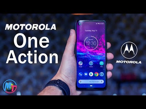 Motorola One Action First Look(2019)!!!