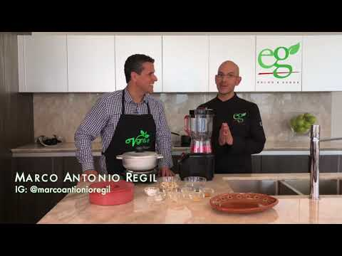 Vegan Quesadillas with Marco Antonio Regil