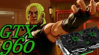 Street Fighter 5 -  PC Gameplay GTX 960 FX 6300 FPS test