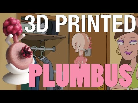 3D Printing a Rick and Morty Plumbus