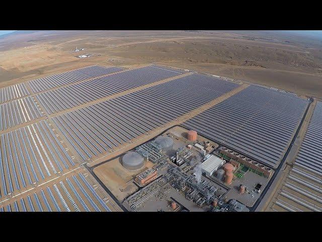 NOOR - das größte Sonnenkraftwerk der Erde