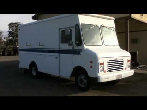 1987 Grumman Olson Van Truck on GovLiquidation com