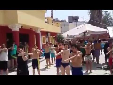 warm up exercises before swim