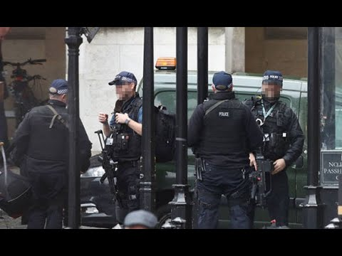 BREAKING: Police swoop on Houses of Parliament after envelope with 'white powder' found