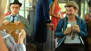 Маски шоу Алкаш и девочка  В троллейбусе
