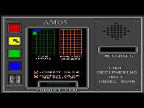 AMIGA CRACK THE CODE AMOS MASTERMIND MASTER MIND & BINGO OCS G366 CD Software 2000 Volume 1Disks2