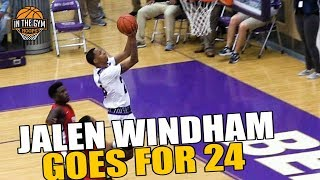 Jalen Windham Goes for 24 Pts vs Hungry Pike Squad