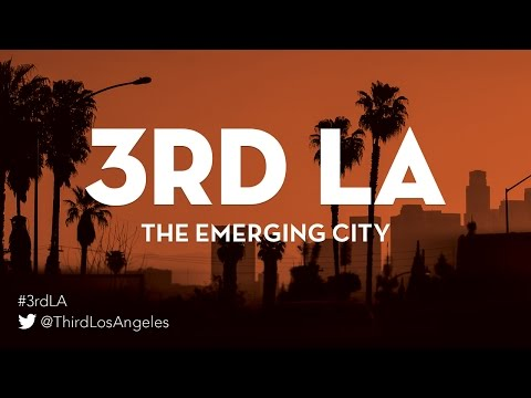 3rdLA: City on Demand: Technology and the New Shape of American Urbanism