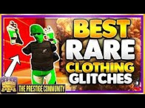 GTA 5 Online SOLO TOP CLOTHES GLITCHES 1 40! TRON SHOES, Bandana & Helmet, MODDED Racing Gloves!