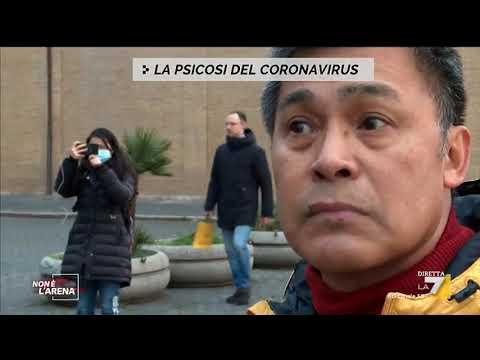 Psicosi da Coronavirus, la situazione nelle strade di Roma