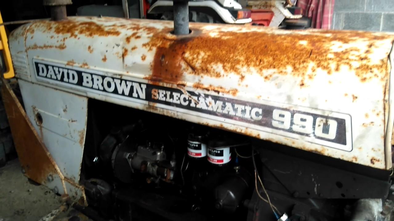 David Brown 990 Late Selectamatic - Service 19  5  2017