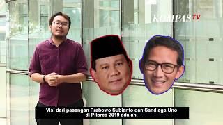 Visi Misi Prabowo Subianto - Sandiaga Uno