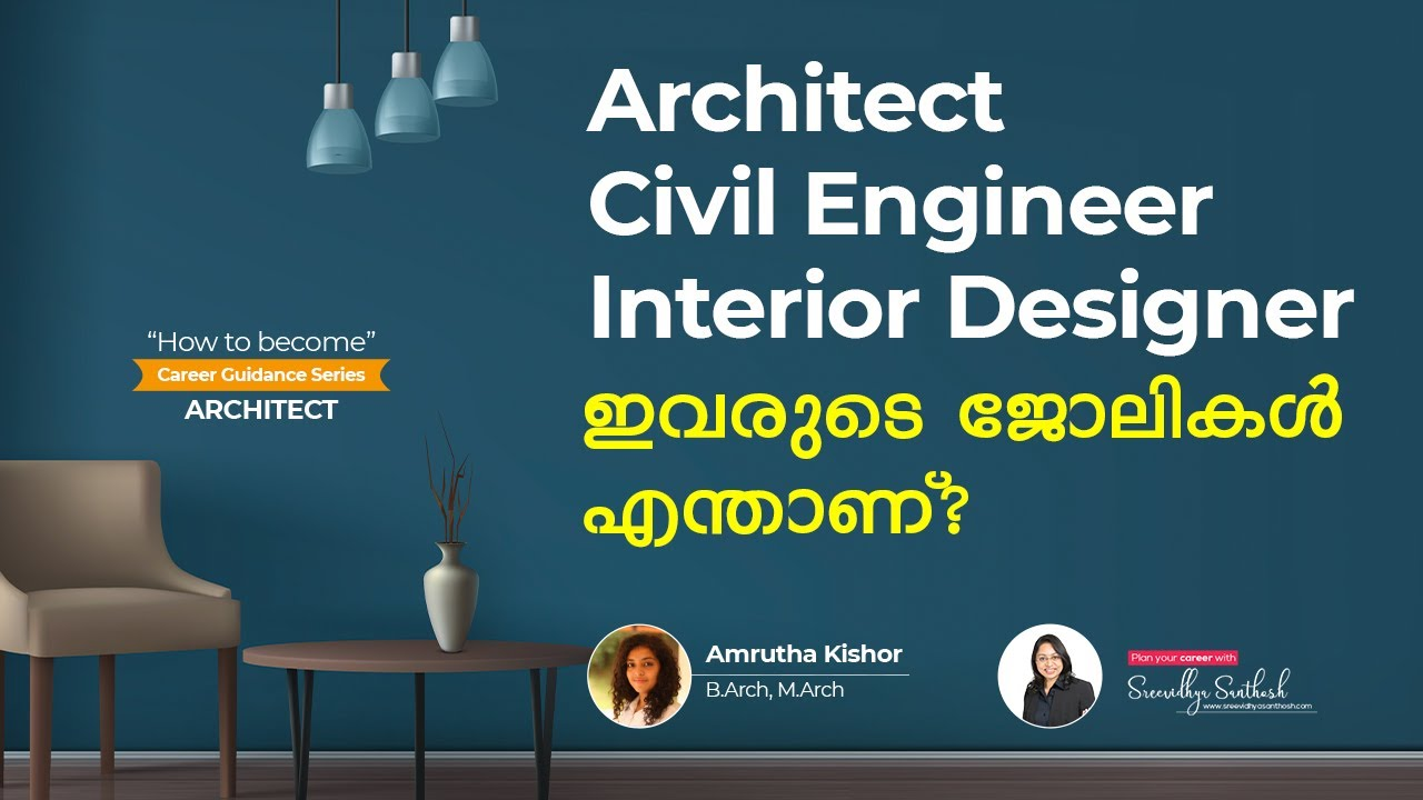 How To Become An Architect In India After 12th B Arch Course Architecture Course Malayalam Youtube