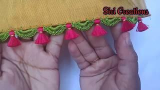 Saree Kuchu #81/ಸೀರೆ ಕುಚ್ಚು / simple Saree kuchu tutorial for beginners / Perfect arch for beginners
