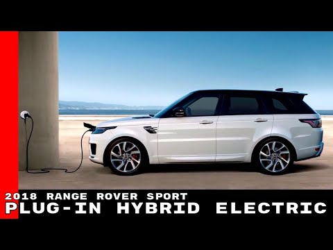 2018 Range Rover Sport PHEV Plug-in Hybrid Electric