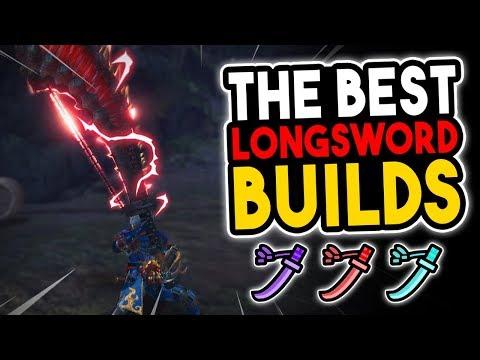 Highest DPS Builds: Longsword - Monster Hunter World [MHW Best Builds] thumbnail