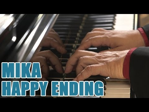 Partitions piano MIKA - Happy ending