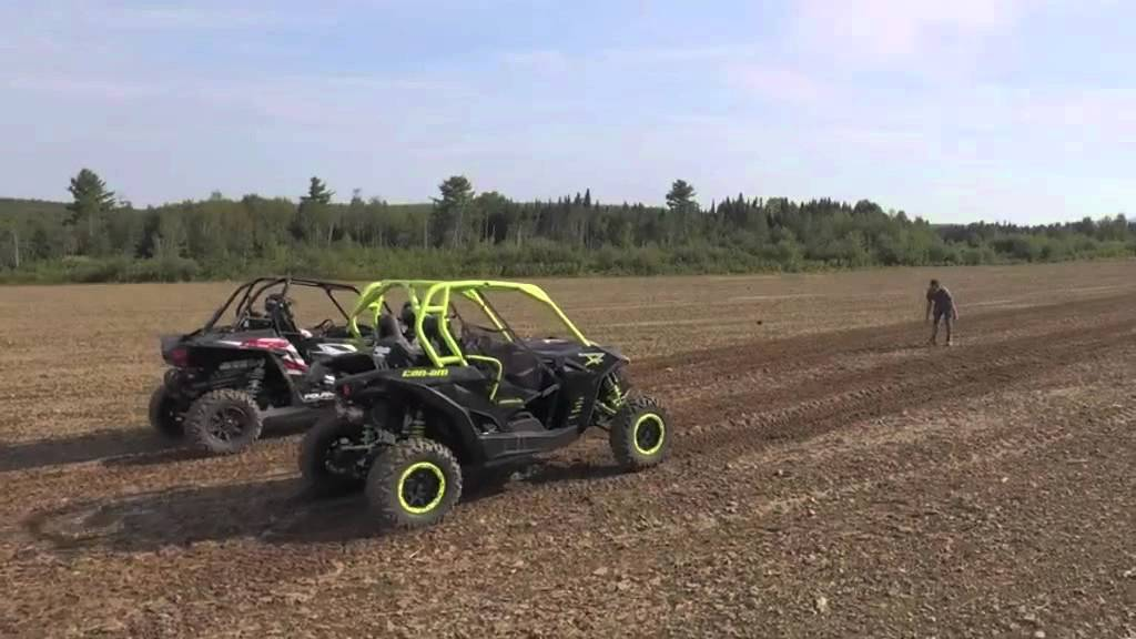 2016 Can Am Maverick X Ds 1000r Turbo Vs Polaris Rzr You