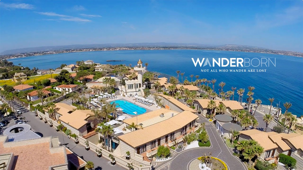Grand hotel minareto from the air youtube for Grand hotel siracusa
