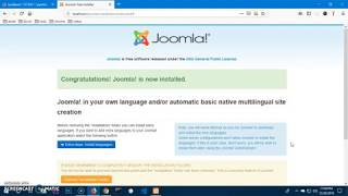 How to install Joomla 3.9.1 on Windows 10