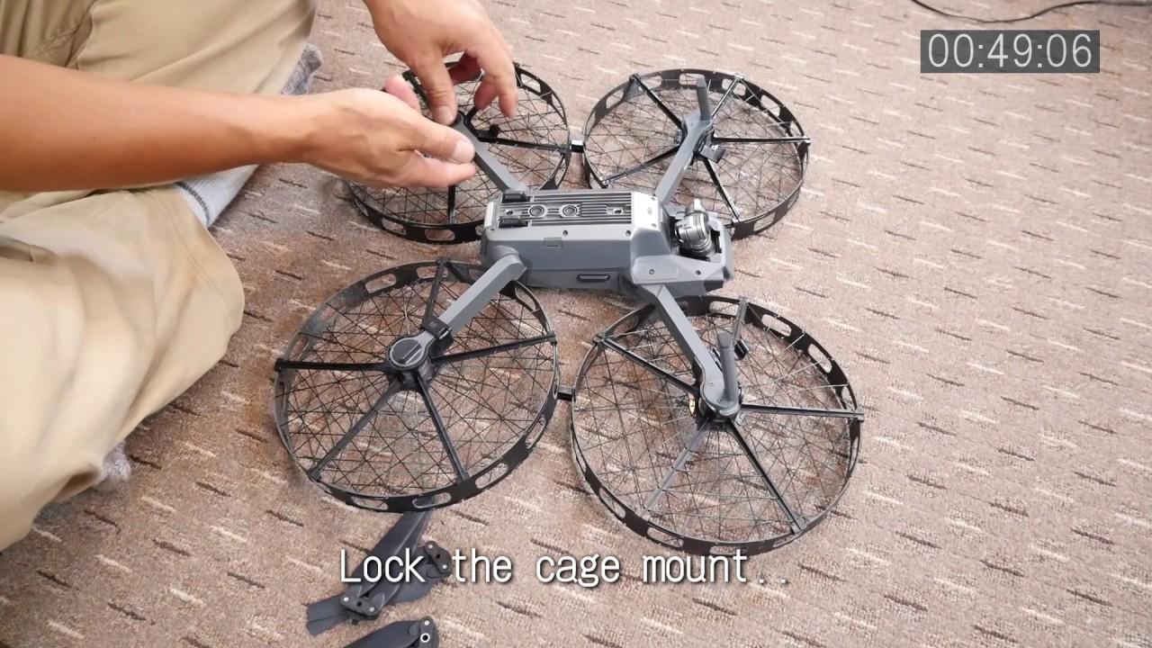 acb982f152b Mavic prop cage quick mount challenge - YouTube