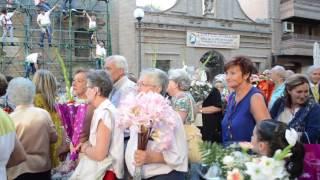 Ofrenda floral a Nuestra Señora de las Angustias