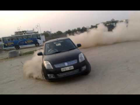 Car Stunt In India Rahul Tyagi Youtube