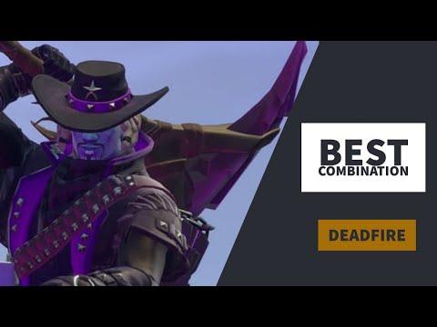 Best Combos | Deadfire | Fortnite Skin Review