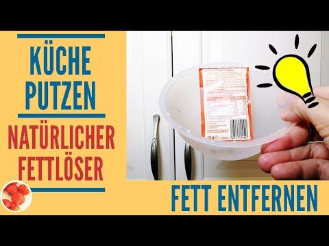 Genialer Trick: Küche putzen mit natürlichem Fettlöser ...