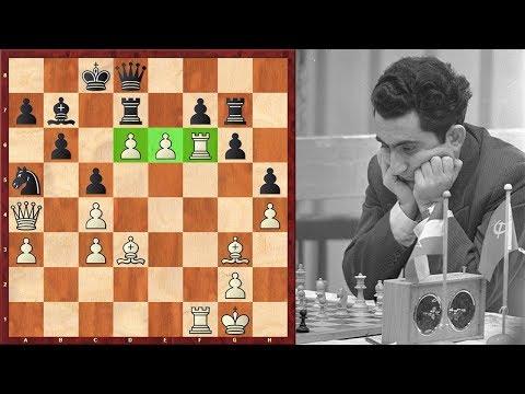 Super Solid Tigran Petrosian Plays A Hyper Aggresive Game