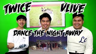 TWICE - DANCE THE NIGHT AWAY VLIVE PERFORMANCE REACTION (FUNNY FANBOYS)