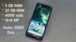 Top 3 Best Smartphone Under 5000 2020 [April]
